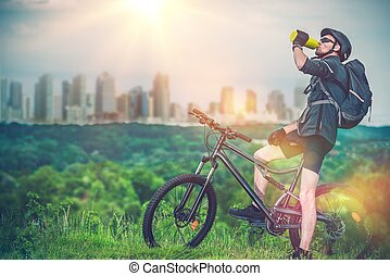 Mountain Biking Near City - Mountain Biking Near the City...