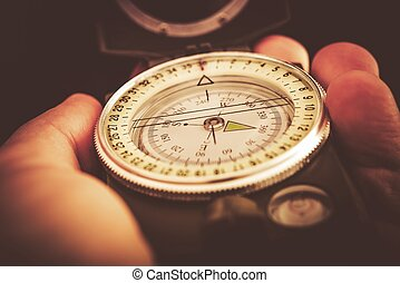 Outdoor Compass Orientation - Navigation and Orientation...