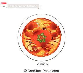 Singaporean Chilli Crab, A Popular Dish in Singapore -...