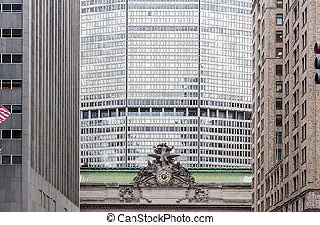 Stock Photography of Cornelius Vanderbilt Monument, Grand Central ...