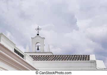Metropolitan Cathedral of Quito in Ecuador - QUITO, ECUADOR,...