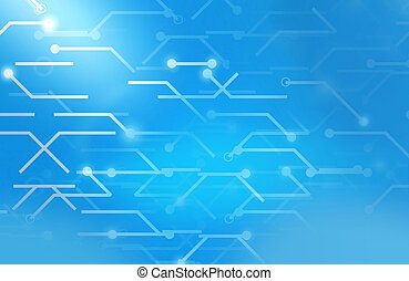 Data connection lines background design