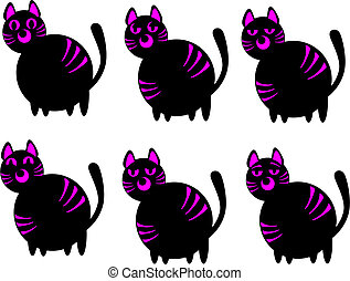 Cats of emotion