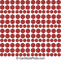 Spangles a background - sequins round isolated on a white...