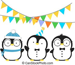 cute penguins.eps