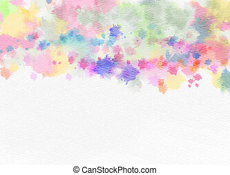 Abstract watercolor background Abstract colorful digital art...