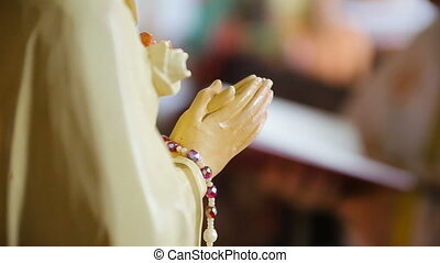 Ave Maria Statue for prayer HD