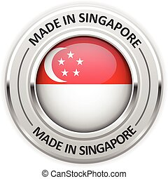 Silver medal Made in Singapore
