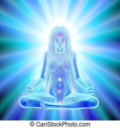 Enlightenment of mind - meditation