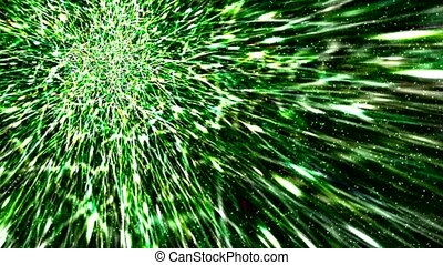 green meteor background - green fiber background,like as...