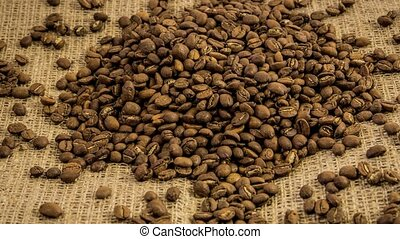 Close-up Coffee Beans.