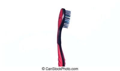 toothbrush rotation on isolated