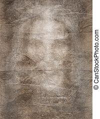 Shroud - Burial shroud modeled after the shroud of Turin