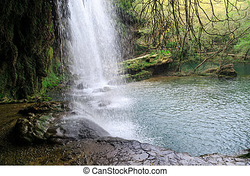 Kursunlu Waterfall View - View of Kursunlu Waterfall in...