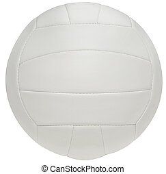 volleyball - volley ball on white