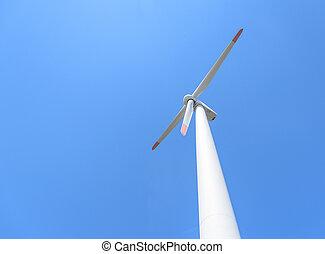 generación, turbinas, potencia, viento