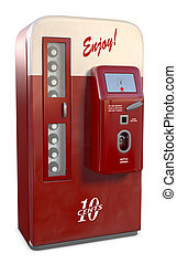 Vintage Soda Machine - An Antique soda vending machine...
