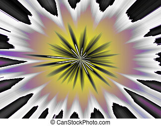 An abstract psychedelic 60\'s 70\'s background