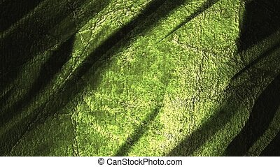 Grunge green moving background