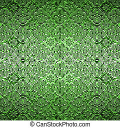 Pattern Glass in classic style