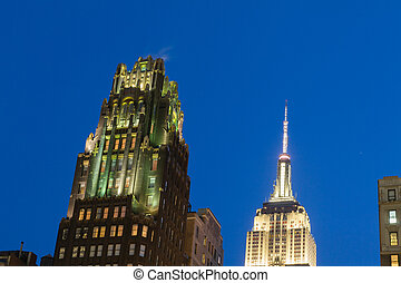 Top of the Empire State - Bryant Park is located in...