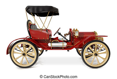 Antique Car 1910 - 1910 style antique car