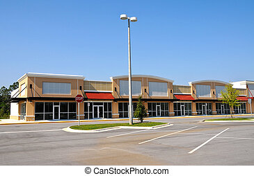 New Shopping Center with Retail and Office Space available...