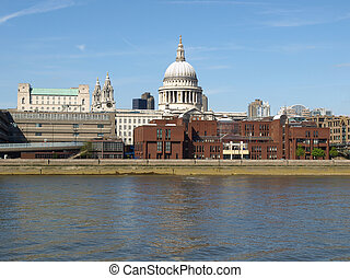St Paul Cathedral, London - St Paul\'s Cathedral in London,...