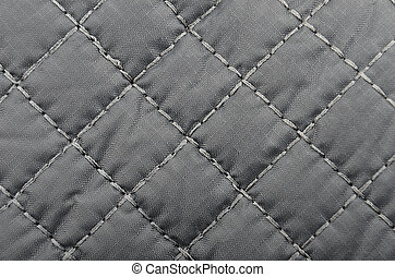 Textured synthetical background - Close up of black textured...
