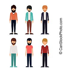 group of young men design