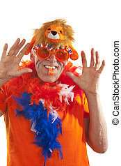 Funny Dutch supporter