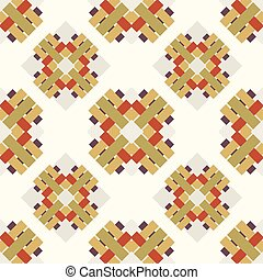 abstract tiles seamless pattern