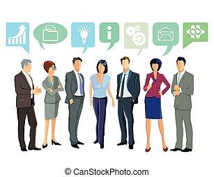 Arbeit,verwalten.eps - Together, Business Ideas