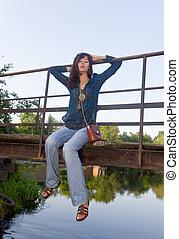 rest on bridge