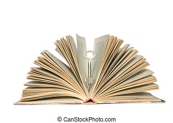 Key in book - Key to knowledge it is book