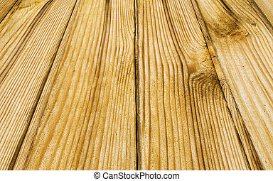 planks - perspective of wooden planks