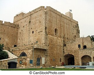 Crusader Castle, Acre, Israel - Acre Castle A World Heritage...