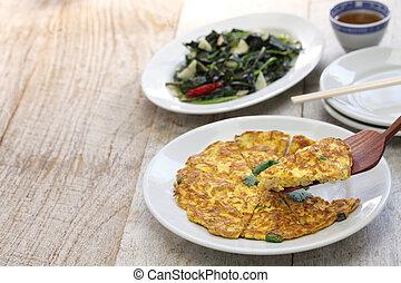 taiwanese home cooking - taiwanese cuisine, dried radish...
