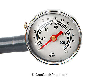 pressure gauge isolated