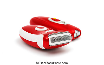 Electric epilator isolated