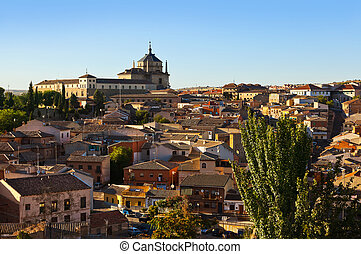 Toledo Spain at sunset