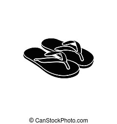 Slipper icon, simple style - Slipper icon in simple style...