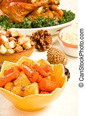 Carrots and Parsnips - Honey orange ginger glazed carrots...