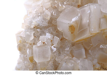 detail of small calcite mineral as nice bacdkground