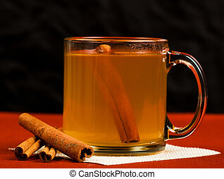 Hot Mulled Apple Cider - Hot mulled apple cider with...