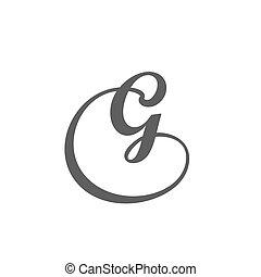 Letter G logo design template. - Vector Letter B Logo Icon...