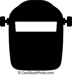 Welding mask, shade picture