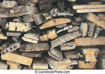 fire wood, log, billet - logs, fire wood