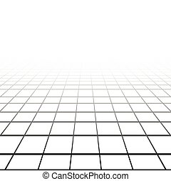 Abstract background with a perspective grid