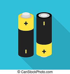 battery icon with shadow